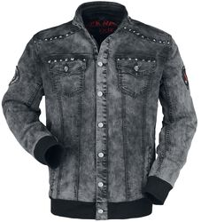 Denim Jacket with Studs