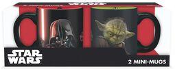 Vader vs Yoda -  Espresso Set