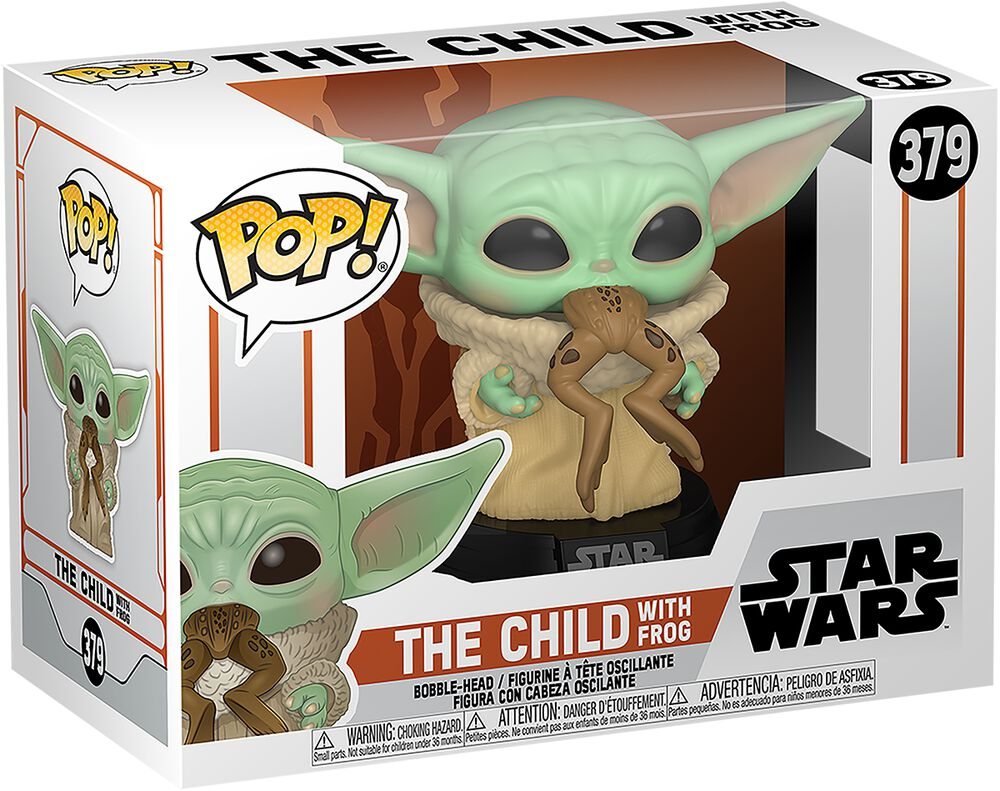 Figura vinilo The Mandalorian - The Child With Frog 379