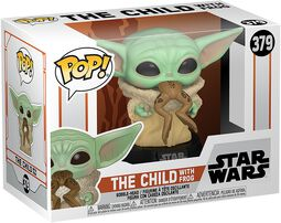Figura vinilo The Mandalorian - The Child With Frog 379