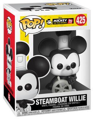 Figura Vinilo Mickey's 90th Anniversary - Steamboat Willie 425