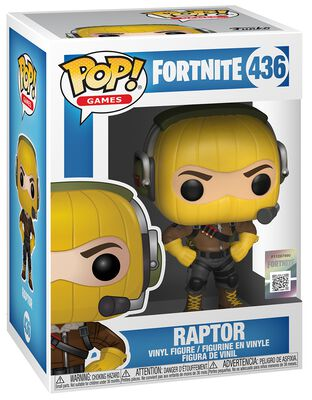 Figura Vinilo Raptor 436