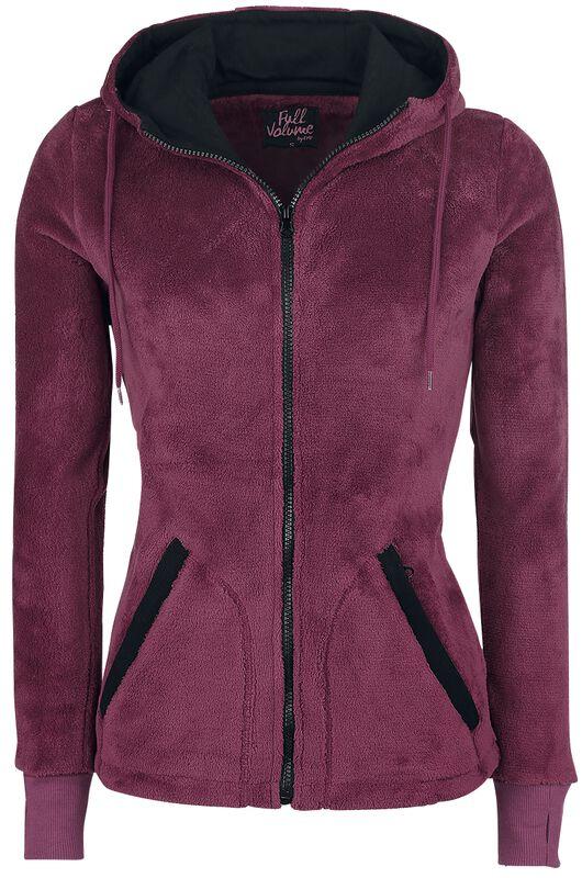 Suave chaqueta con capucha