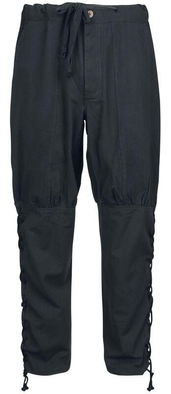 Pantalones con Cordones Laterales