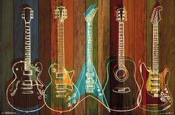 Guitarras Wall of Art