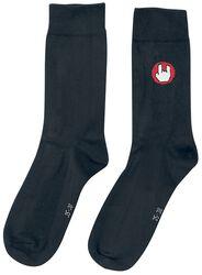 Calcetines negros con logo de EMP