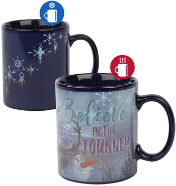 Believe In The Journey - Taza efecto térmico