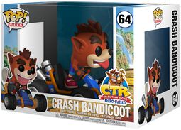 Figura Vinilo Crash Bandicoot POP Rides 64