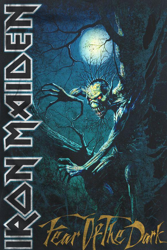 Fear of the dark iron maiden camiseta - Exclusivas fecar ...