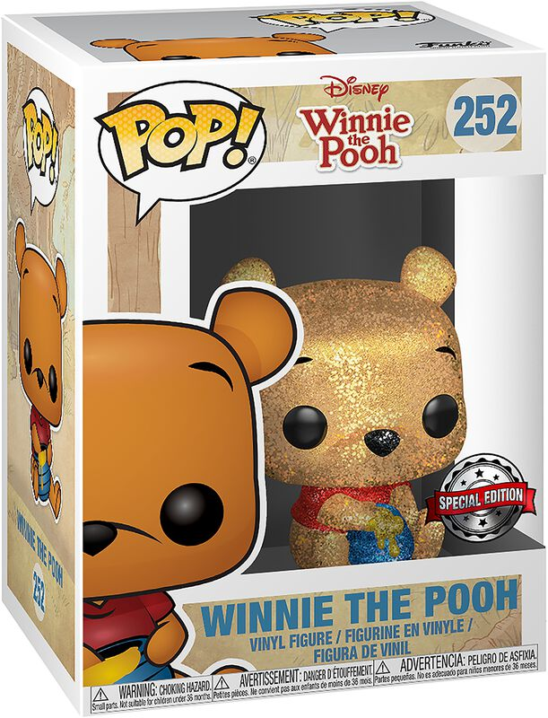 Figura vinilo Winnie The Pooh (Diamond Collection) 252