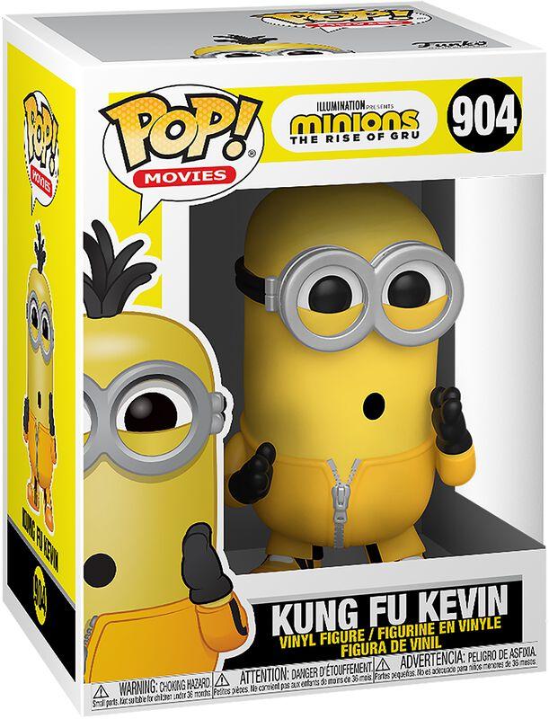 2 - Figura Vinilo Kung Fu Kevin 904