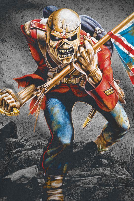 b62b7d10c Iron Maiden. The trooper. Camiseta. 87 Opiniones