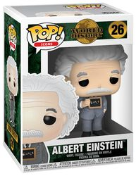 Figura Vinilo World History - Albert Einstein 26