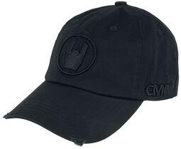 Gorra negra con Rockhand