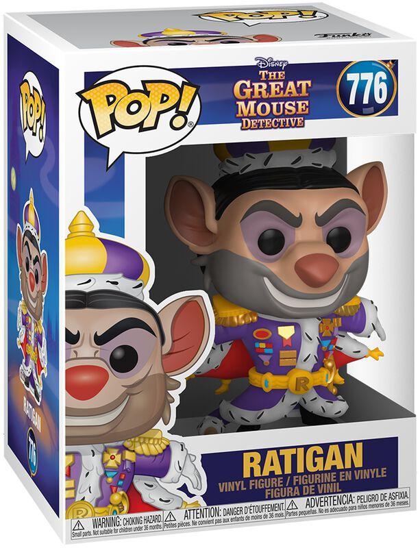 Basil the Great Mouse Detective Figura vinilo Ratigan 776