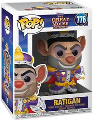 Basil the Great Mouse Detective Figura vinilo Ratigan 776