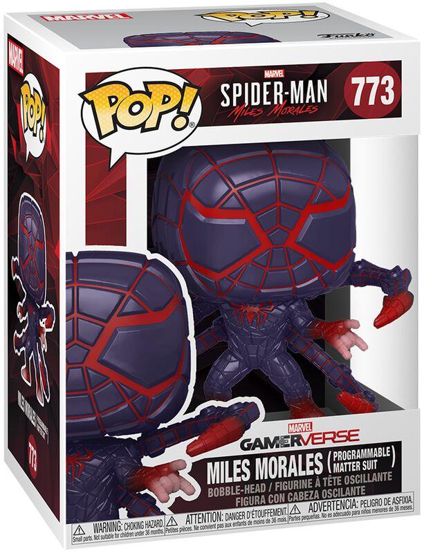 Figura vinilo Miles Morales - Miles Morales (Programmable Matter Suit) 773