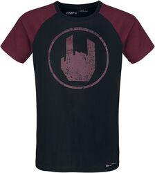 Camiseta negra con Rockhand
