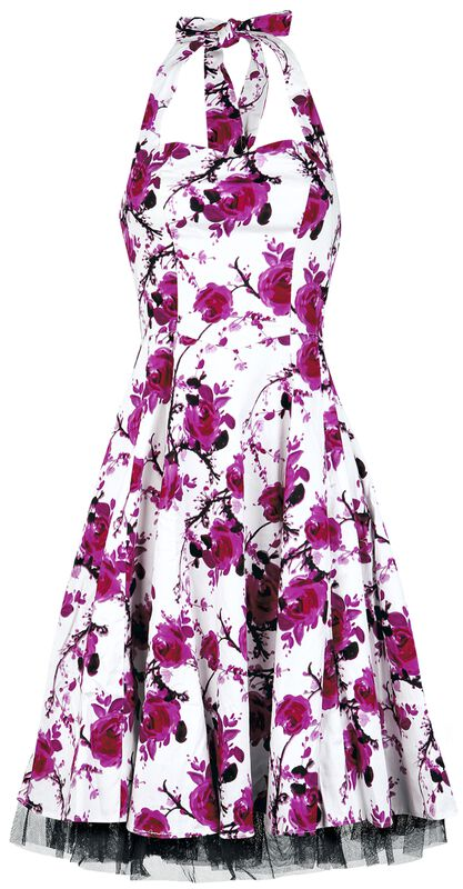 Vestido Floral Rosas
