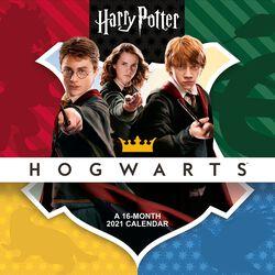 2021 Calendario pared - Hogwarts