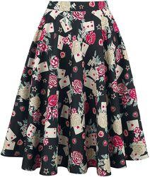 Queen Of Hearts 50s Skirt