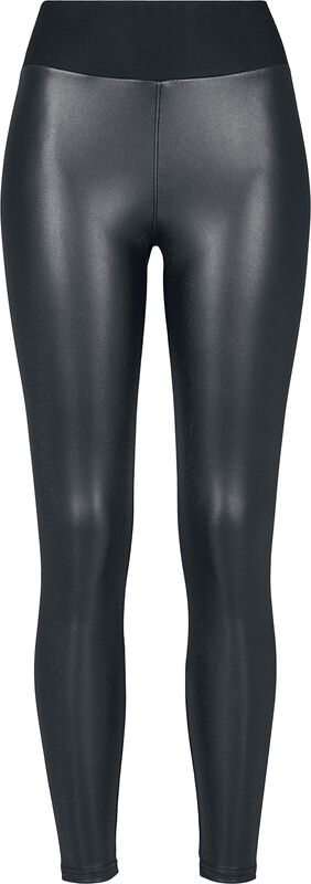 Ladies Faux Leather High Waist