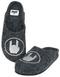 Zapatillas grises con Rockhand