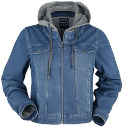 Blue Jacket with Sweat Insert
