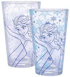 Frozen Elsa - Vaso con efecto térmico