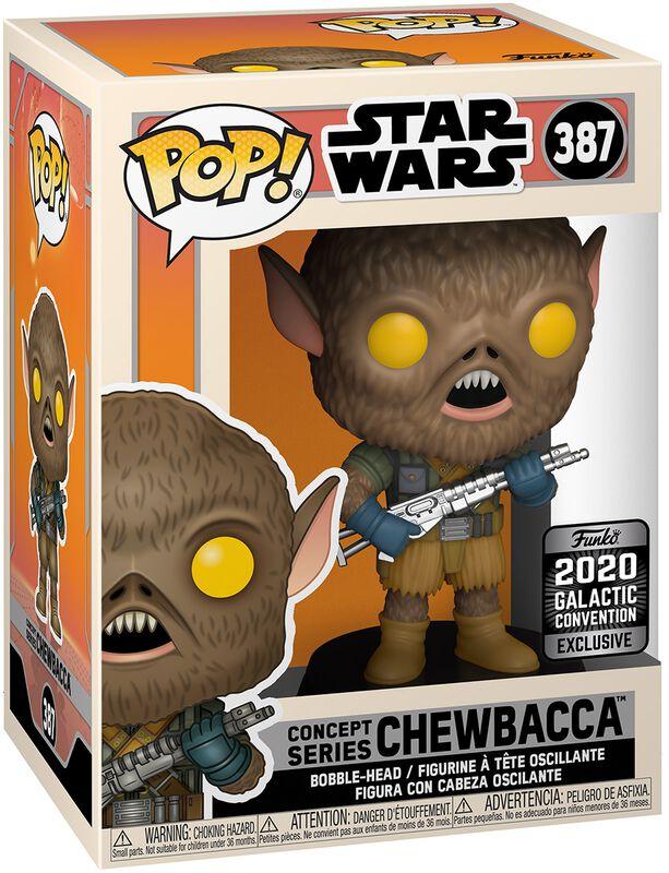 Figura vinilo Celebration - 2020 Galactic Convention - Chewbacca (Funko Shop Europe) 387