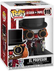 Figura Vinilo El Profesor 915
