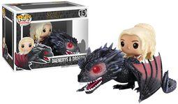Figura Vinilo Daenerys Targaryen & Drogon 15
