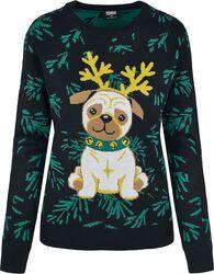 Ladies Pug Christmas