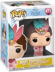 Figura Vinilo Mary Poppins at the Music Hall 473