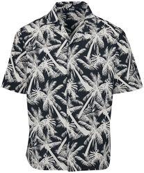 Camisa Pattern Resort White Palm