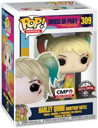 Figura Vinilo Harley Quinn Boobytrap Battle 309