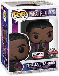 Figura vinilo T'Challa Star Lord 876