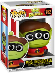 Figura vinilo Alien Remix - Mrs. Incredible 762