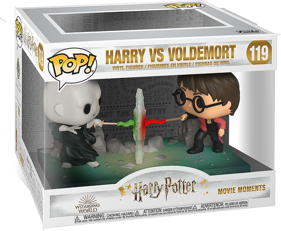 Figura vinilo Harry vs. Voldemort (Movie Moments) 119