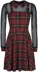Passionate By Nature Plaid Overall