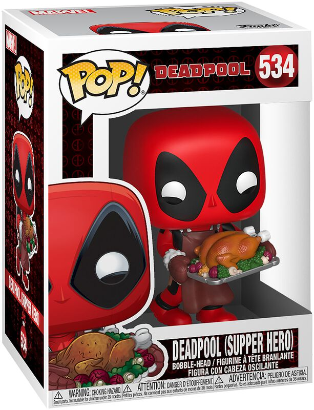Figura Vinilo Deadpool (Supper Hero) (Holiday) - 534
