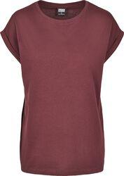 Camiseta Mujer de Hombros Amplios