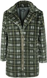 Teenage Dirtbag Plaid Faux Fur