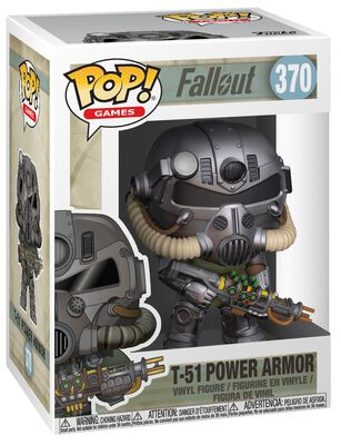 Figura Vinilo T-51 Power Armor 370