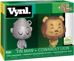 mago de oz Figura Vinilo ECCC 2019 -  Tin Man + Cowardly Lion (VYNL)