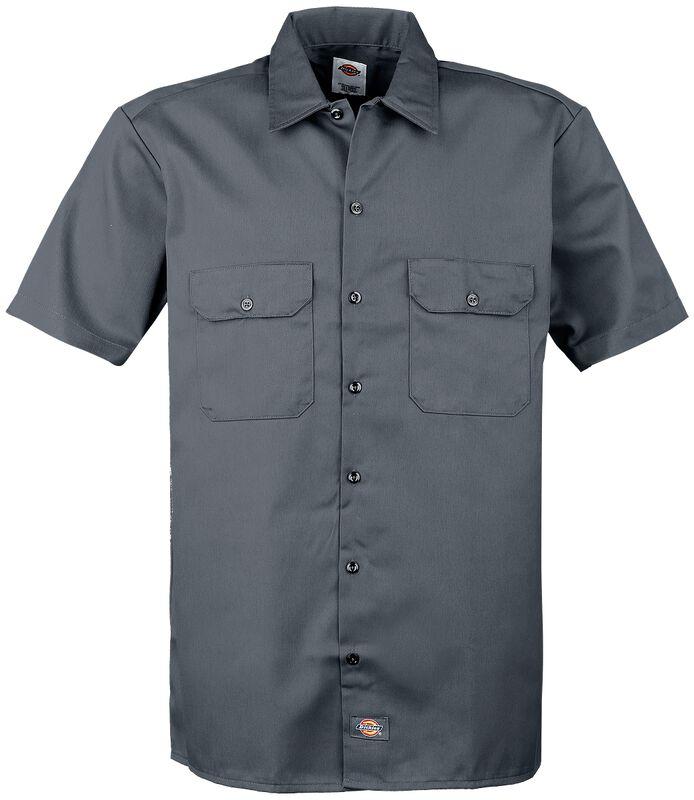 Camisa de Trabajo de Manga Corta