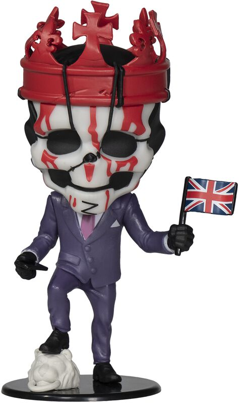 Legion - King Of Hearts (Ubisoft Heroes Collection) Chibi Figure