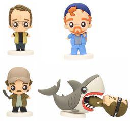 Brody, Hooper, Quint, Quint in Shark (Pokis Figures)