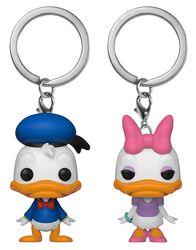Donald & Daisy - POP! Llaveros 2-Pack
