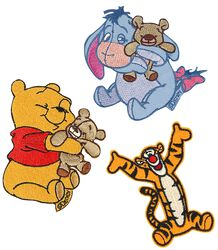 Winnie the Pooh Parches